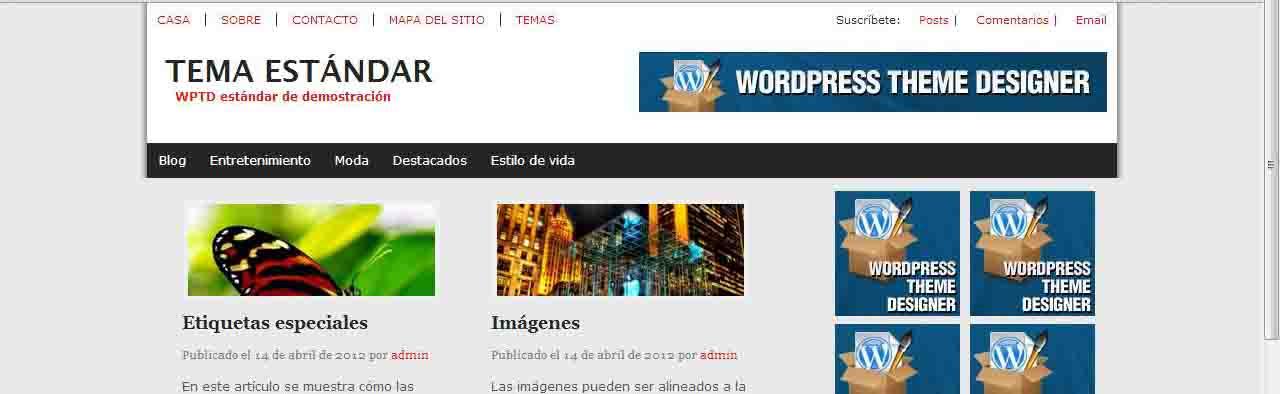 Plantillas wordpress gratis