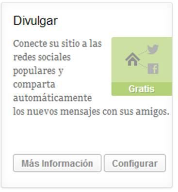 Divulgar - Publicize