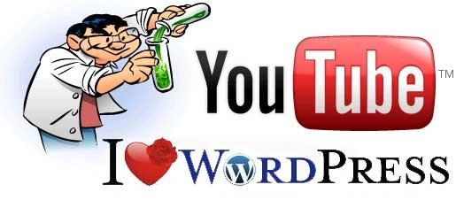 insertar video youtube en worpdress