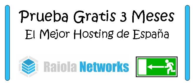 3 meses gratis de hosting