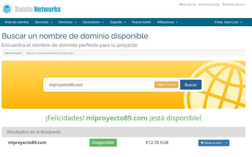 ver dominios web libres